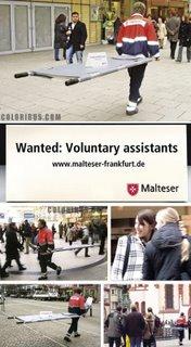 Malteser Worldwide Relief voluntary recruitment in Frankfurt
