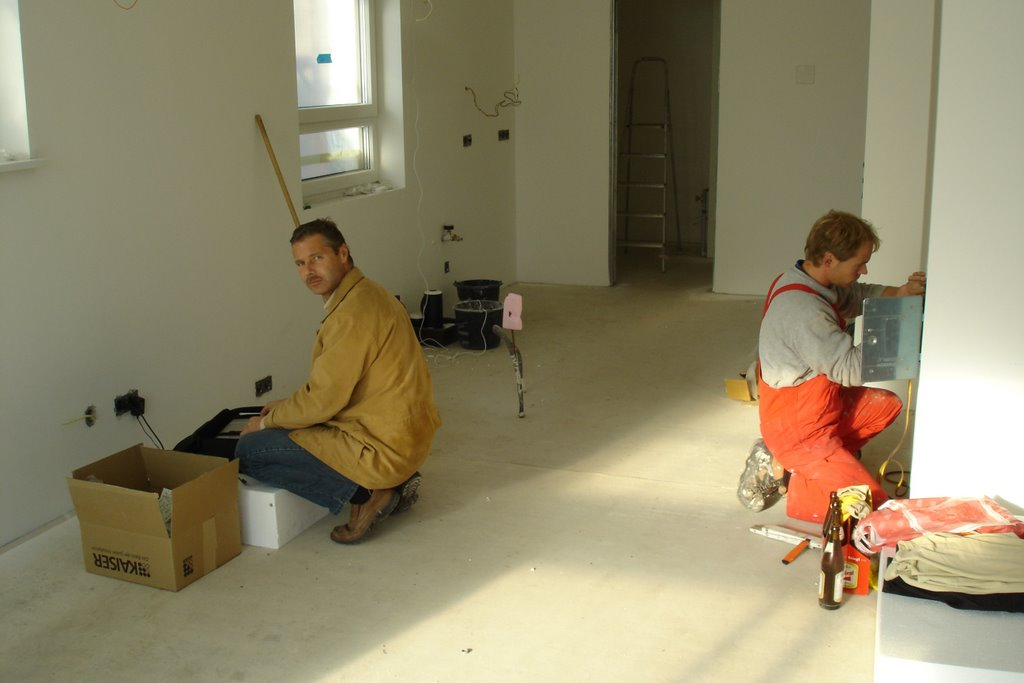 unser hausbau 2006 2007 tag xxx blower door test no 2. Black Bedroom Furniture Sets. Home Design Ideas