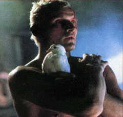 Rutger Hauer como Roy Batty en Blade Runner