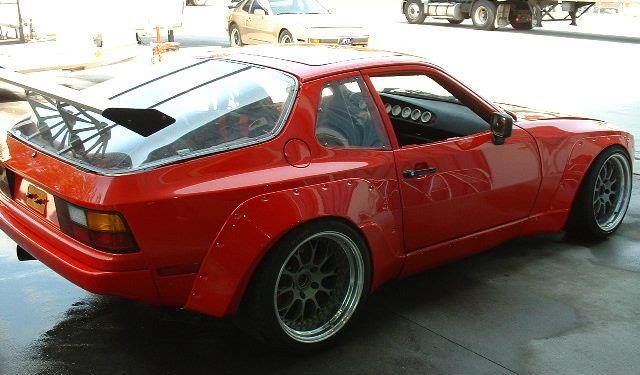 The Porsche Palace International Porsche 944 Wide Body