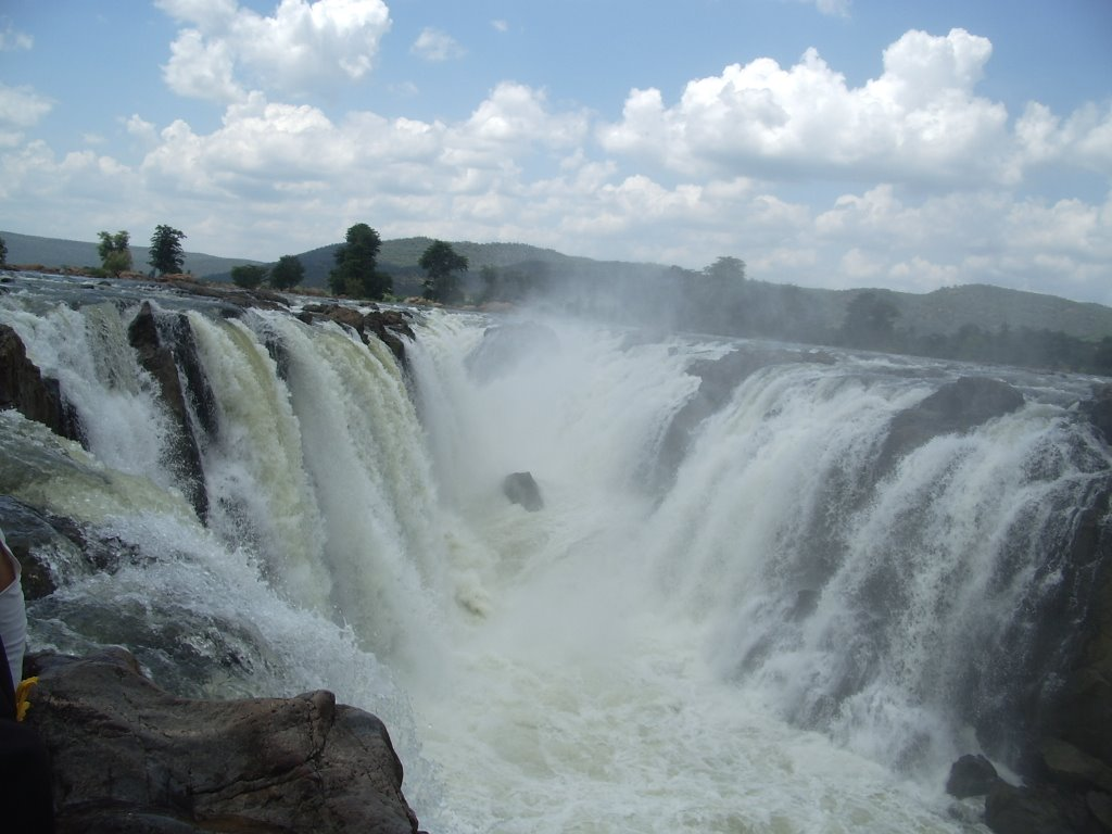 Ashwini S Travel Tales Hogenakkal Falls India S Niagara