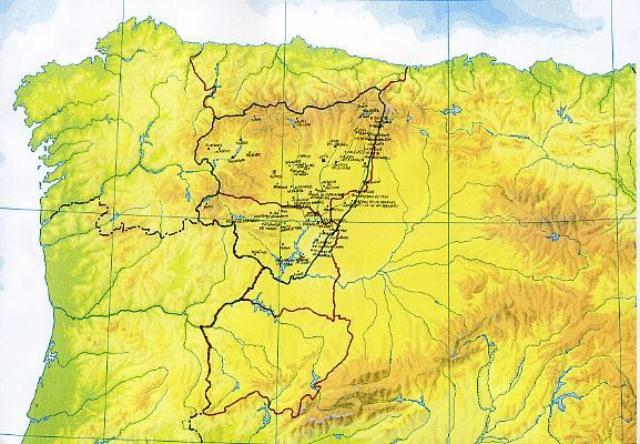 Montes De Leon Mapa.El Adelantamiento Del Reino De Leon Reino De Leon