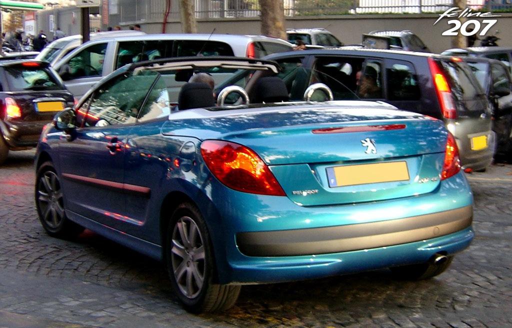 Scooped : Peugeot 207 CC
