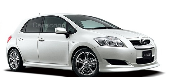 2007 toyota auris production version corolla 39 s successor goes on sale in japan. Black Bedroom Furniture Sets. Home Design Ideas