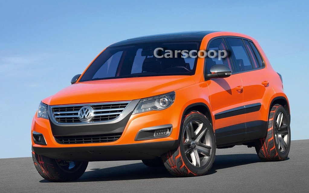 Hold Onto Your S Because Here Vw First Ever Compact Suv The Tiguan Which Will Make Its Debut At Los Angeles Auto Show In A Of Days