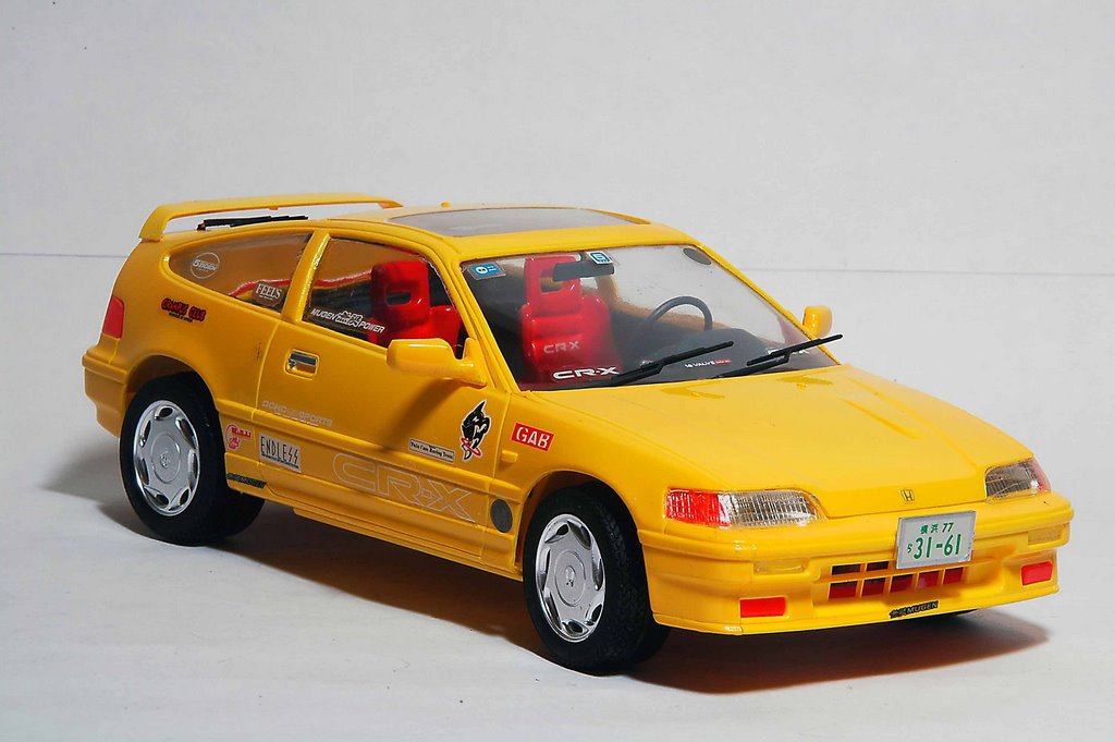 Ls Plastic Model Japanese Car Collection
