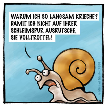 LACHHAFT - Cartoons von Michael Mantel - Wöchentlich neue