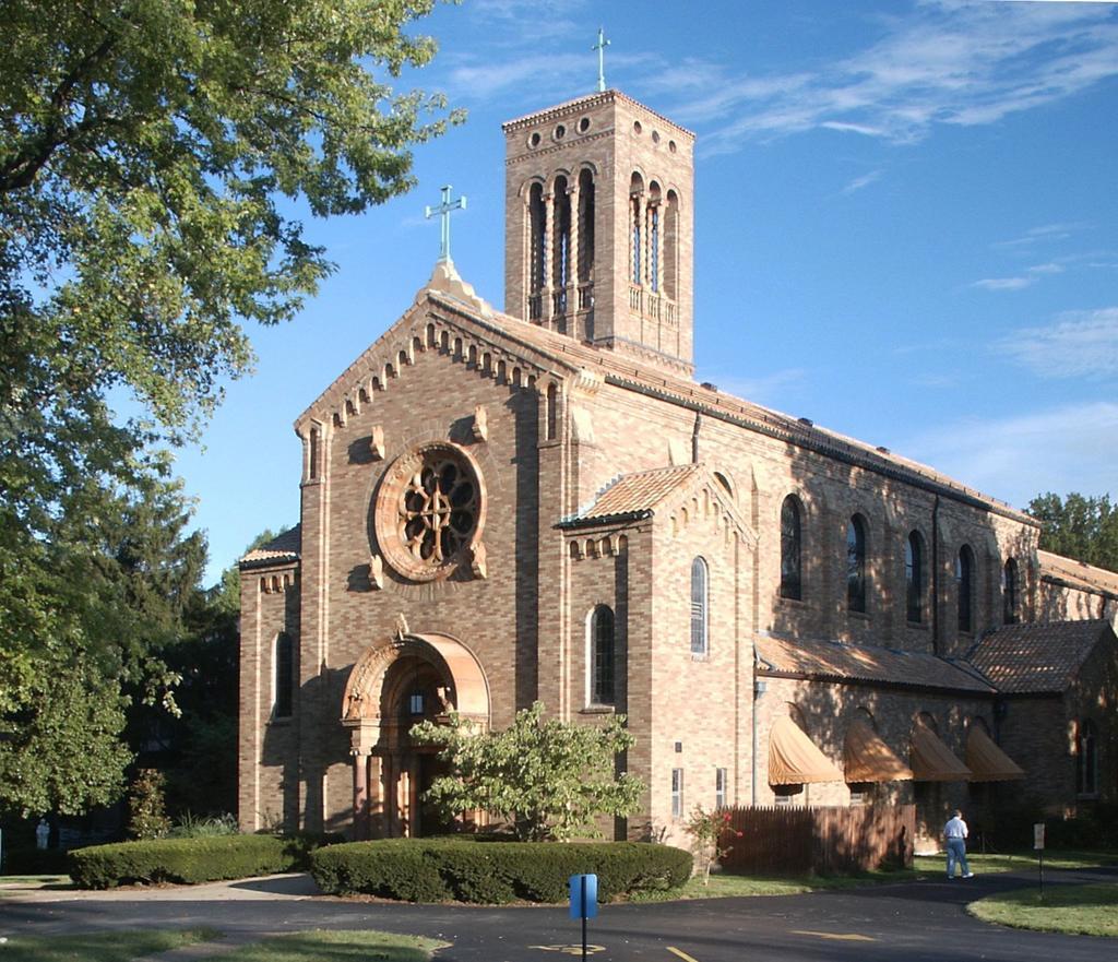 Rome of the West: Photos of the Carmelite Monastery, Saint Louis