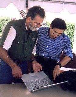 Ric Redden and Atsu Kuwano