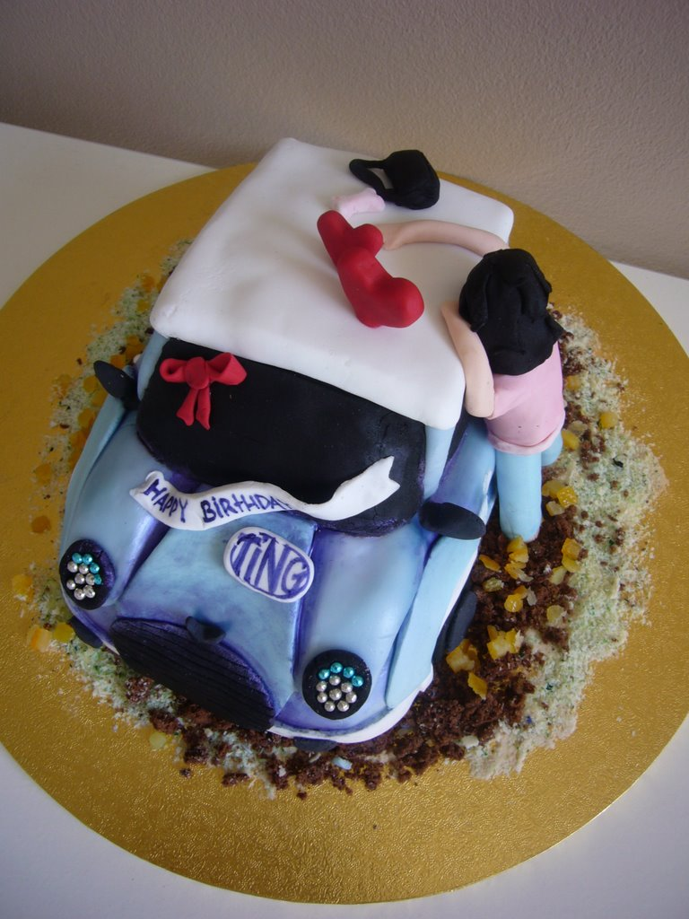 Mini Car Birthday Cake Recipe