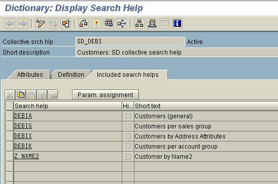 sap search help
