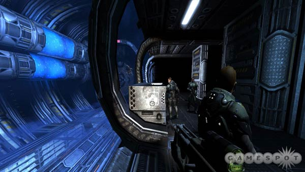 Screenshot: Quake 4 environment