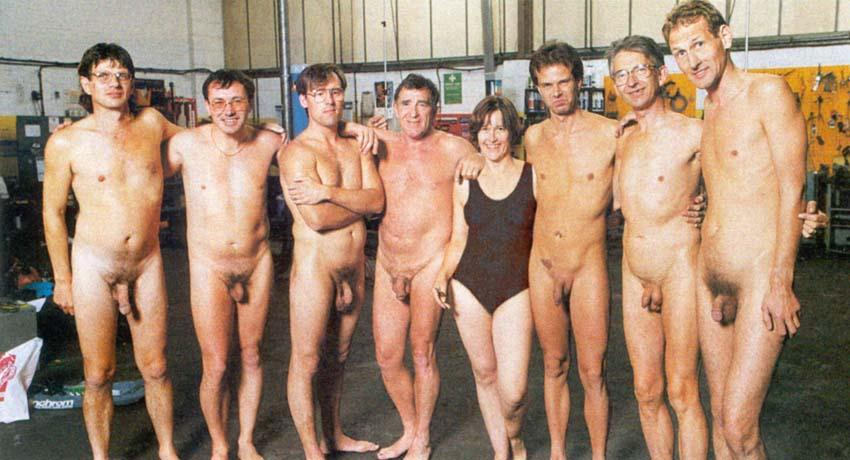 nude men in groups