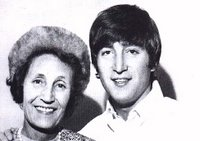 Aunt Mimi and John Lennon