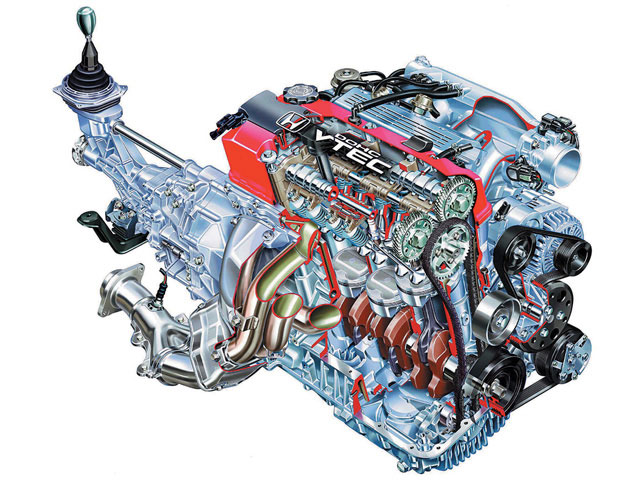 Honda VTEC: A Cam For All Reasons ~ HONDA VTEC
