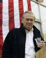 Secty of Defense Donald Rumsfeld