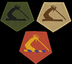 Massachusetts National Guard shoulder patches