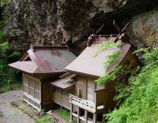 One of many Shinto shrines on the Oki islands.