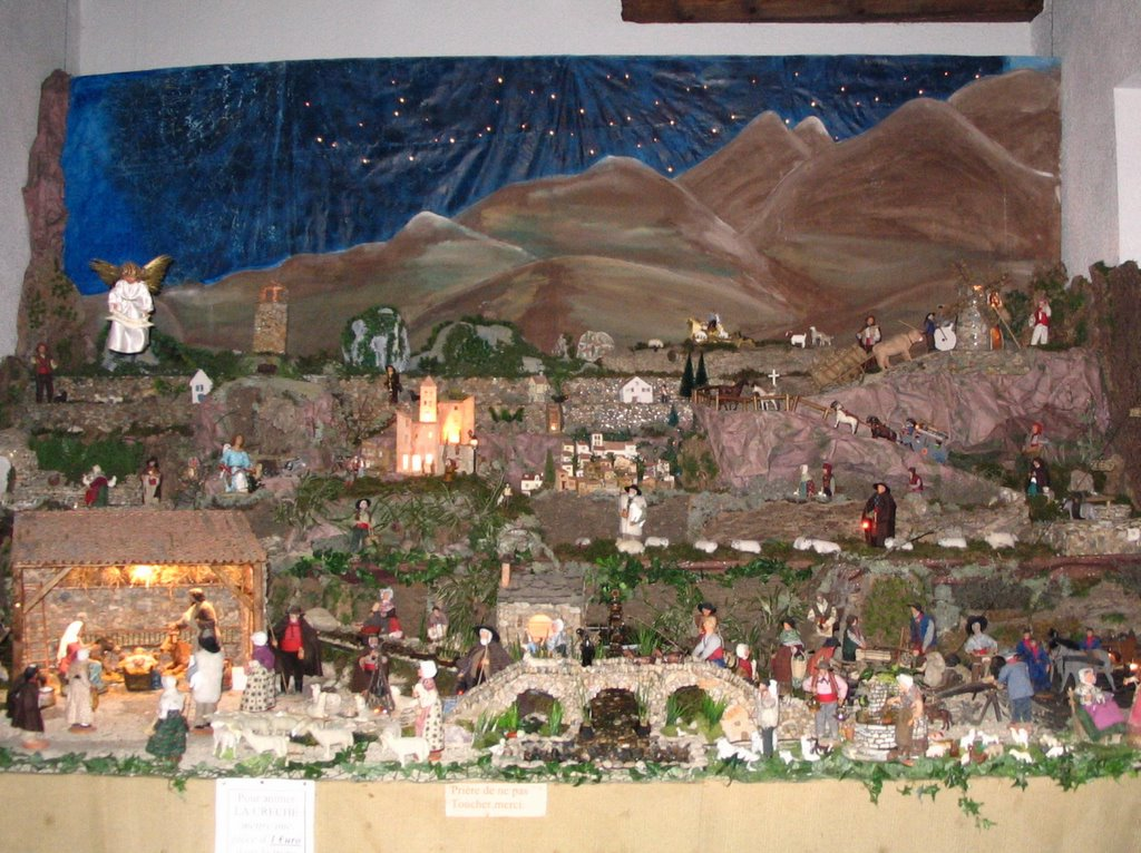 29 Maxted Travels With Modestine 1 Baubles At Boubals OUR CHRISTMAS CRIB