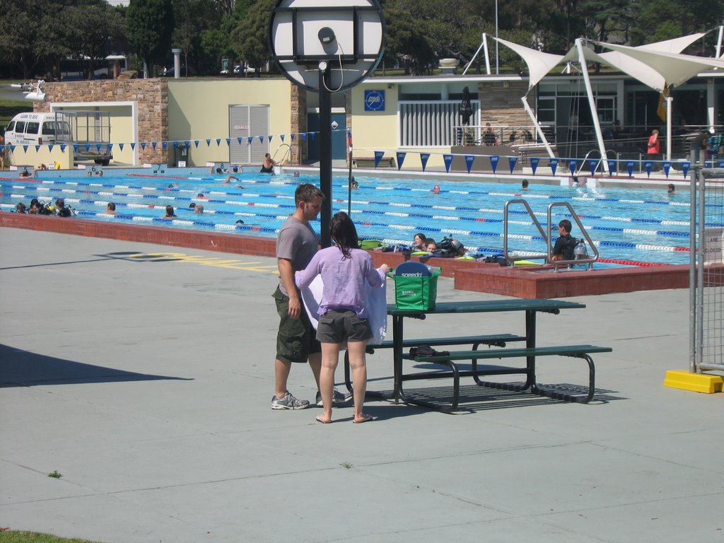Victoria Park Pool, Chippendale, Sydney - Swimming