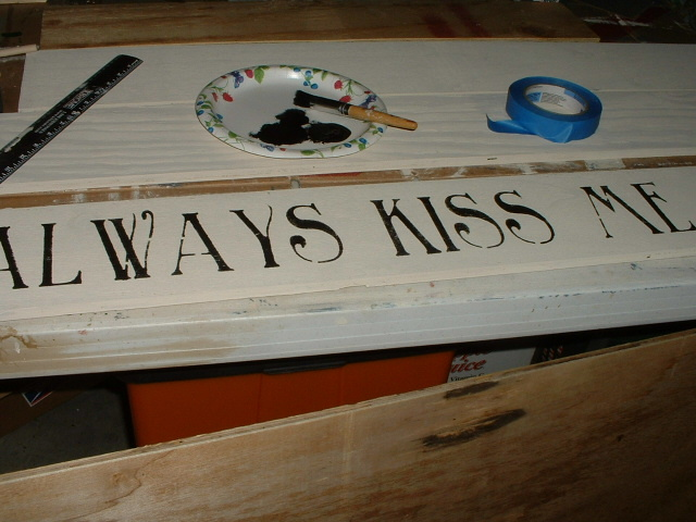AMERICANPRIM PRIMITIVE HOW TO S AGEING AND STENCILLING WOOD SIGNS