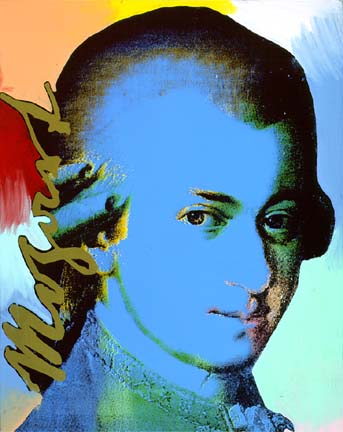 Mozart kreativ für Kinder im Unterricht mit Schülern der Grundschule