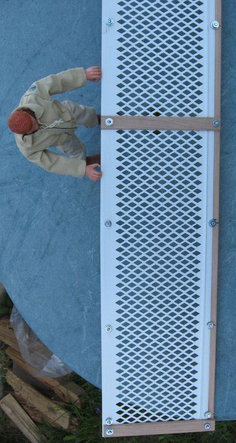 One-sixth: Catwalk construction details