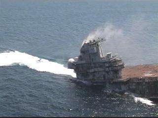 SAILORS, MARINERS & WARRIORS LEAGUE: US Navy Sinks USS