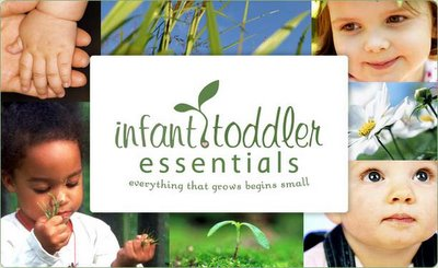 Infant Toddler Essentials :: Everything That Grows Begins Small