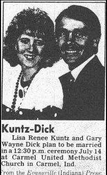 Brides Who Likely Won't Hyphenate - kuntz-dick