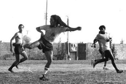 Un Poco De Todo Bob Marley Jugando Al Futbol