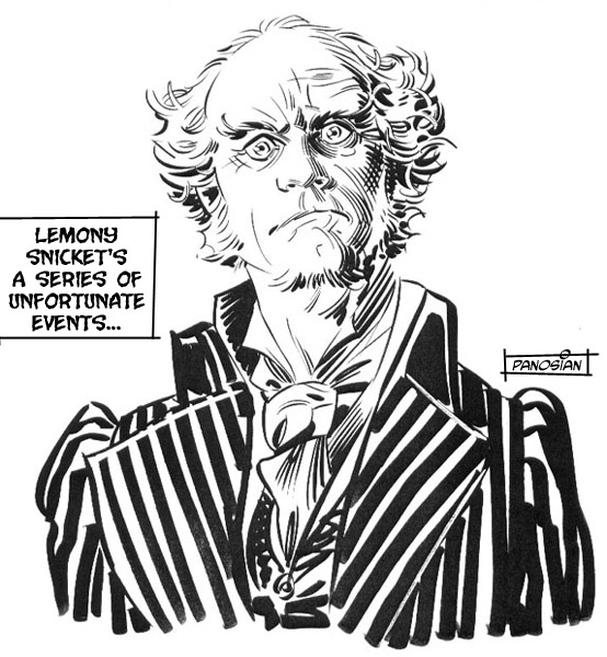 lemony snicket coloring pages - urban barbarian lemony snicket