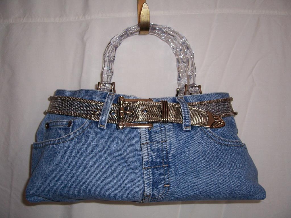 Personality Purses Blue Jean Quot Fancy Pants Quot Purse