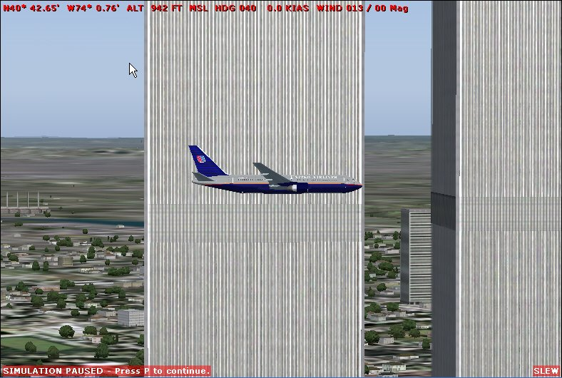 Humint Events Online: Flight Simulator Has Correct Proportions for a