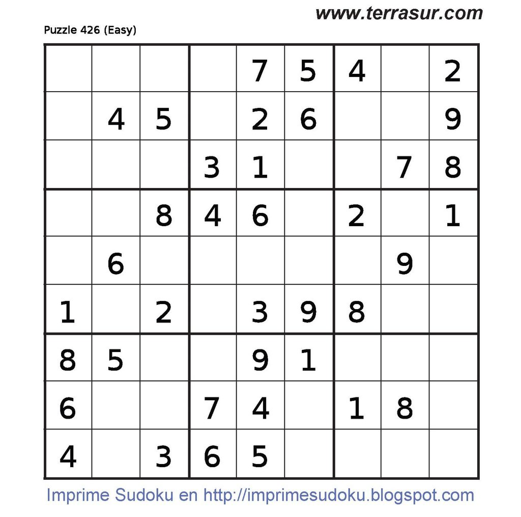 Imprimir Sudoku: October 2006