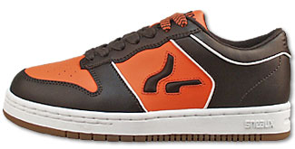 33dc1aa2d3 Sneaux shoes pipe SRS. Chocolate Orange White Leather
