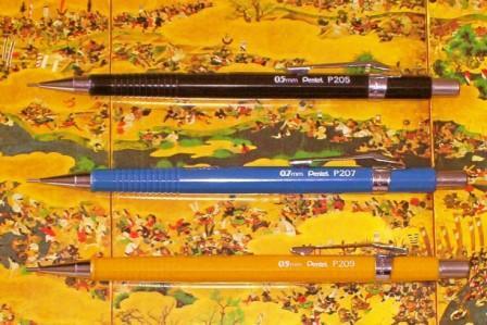 dmp dave s mechanical pencils pentel sharp p205 mechanical pencil review