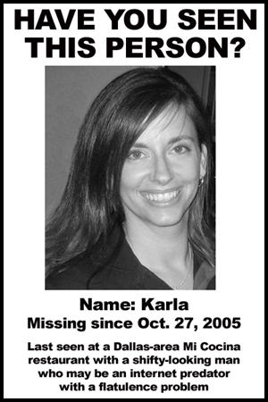 Karlababble  Make A Missing Person Poster