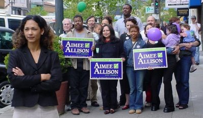 Oakland City Council District Two - African American Money To Allison
