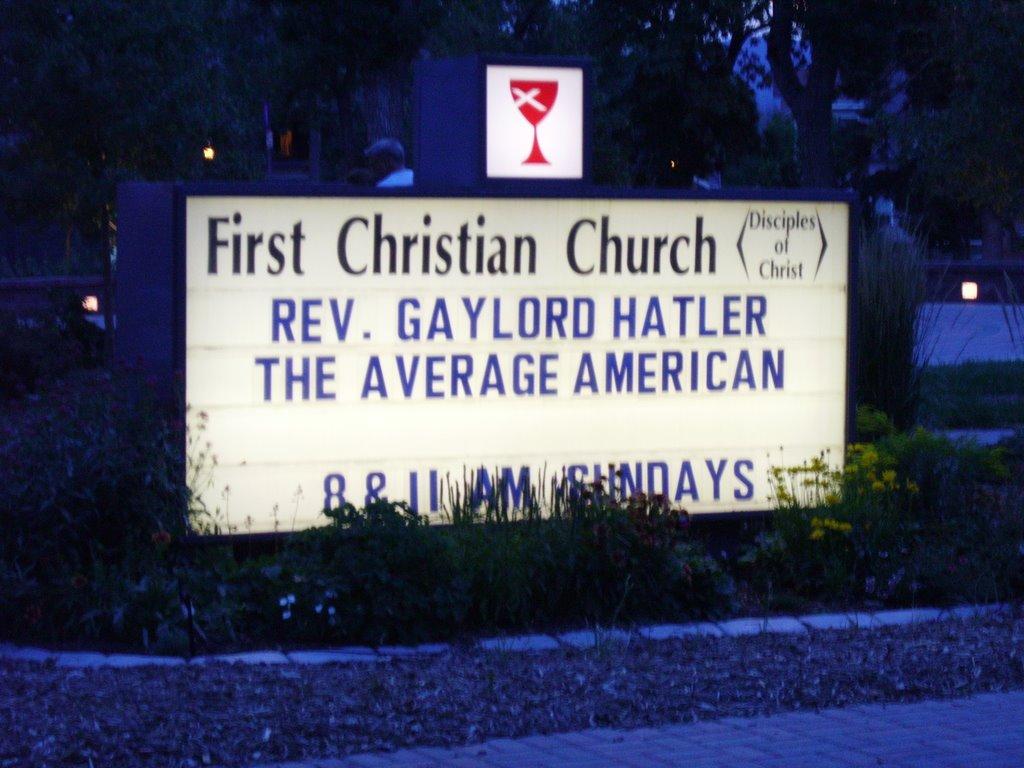 Church sign 17