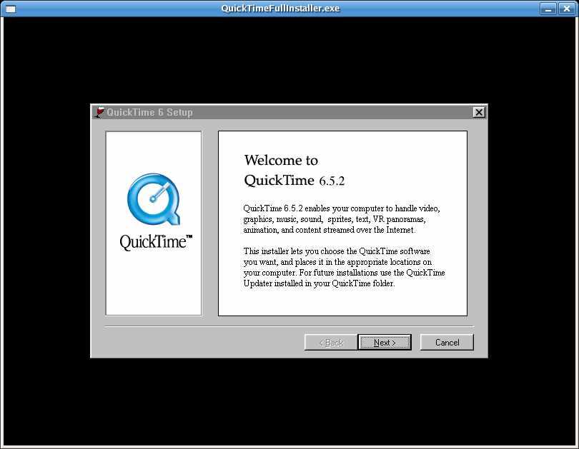 Running Windows Applications Under Linux