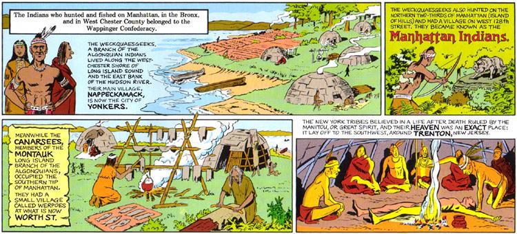 Pseudo-Intellectualism: NYC Native American Homes-Algonquin