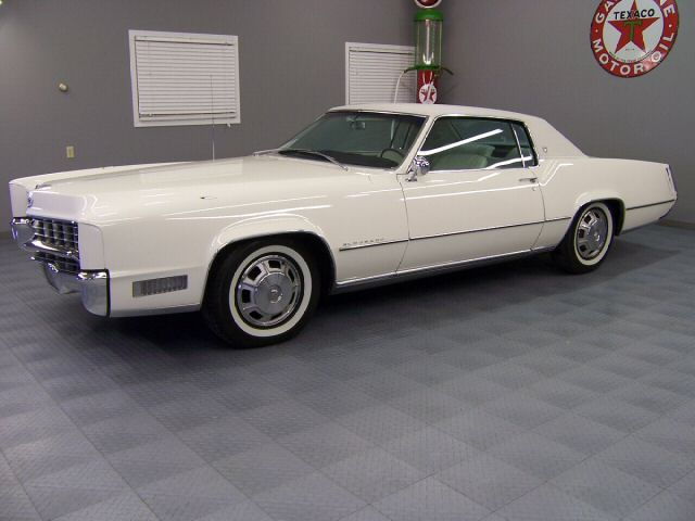 Coupe Brougham 1968 Cadillac Eldorado