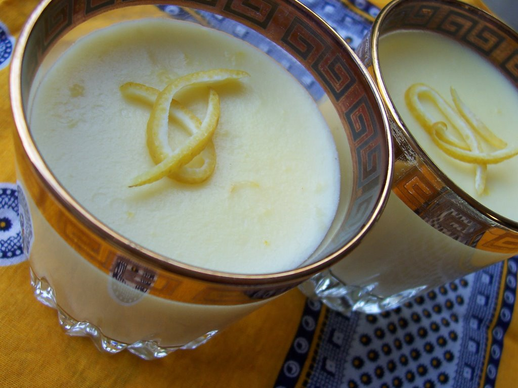 Limonlu Puding Tarifi