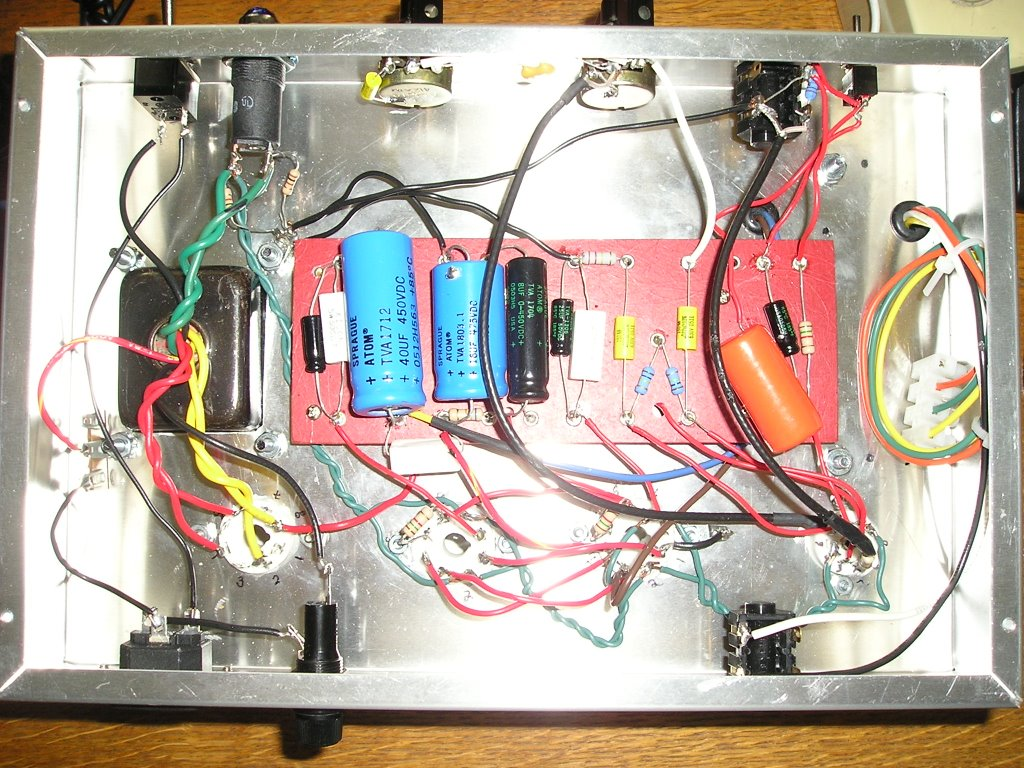 My Two Stroke Amp Project Guitar Input Jack Wiring Final Thoughts For Newb Builders Like Me
