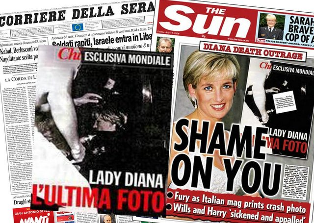 Newswatch: Diana Pictures Outrage British Press