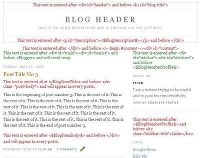 blogger template 1