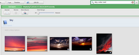 Picasa search by color