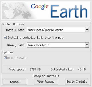 Google Earth 4 Linux Install