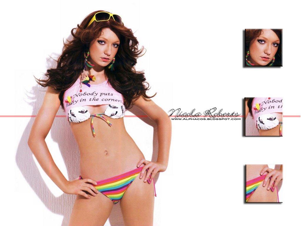 Aloud bikini girl in picture can